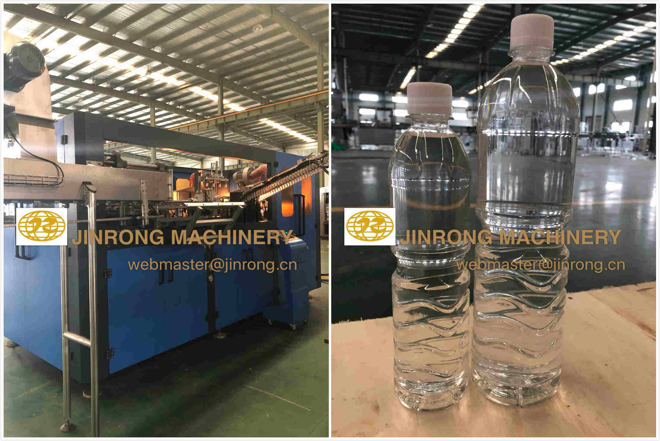 8000B/H 500ml Water Filling Production Line Passed the Inspection