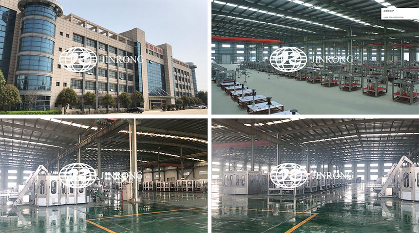 water filling factory from Jinrong